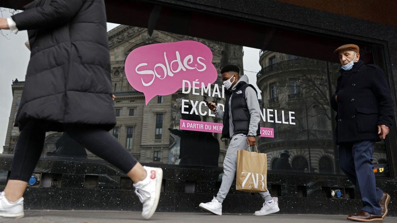 N'ayant pas attendu les soldes, les Français risquent d'être moins enthousiastes dans leurs achats.