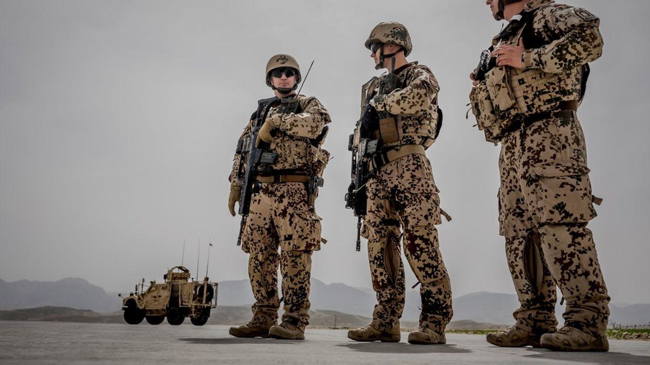 Pus de 1.000 soldats de la Bundeswehr étaient encore en Aghanistan il y a deux mois.