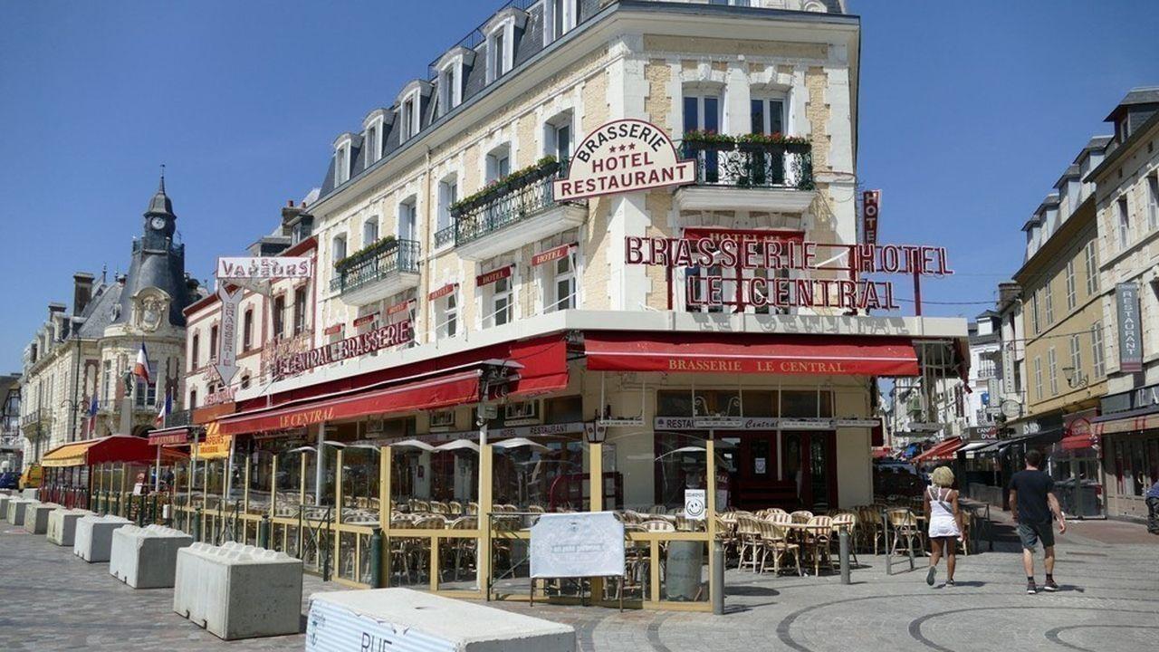 La brasserie «Le Central», à Trouville, a été reprise l'an passé par le groupe Bourdoncle.