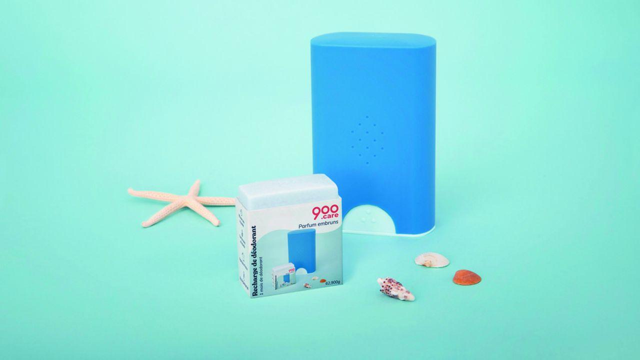 900.care utilise des contenants réutilisables pour aider les consommateurs à moins consommer de plastique.