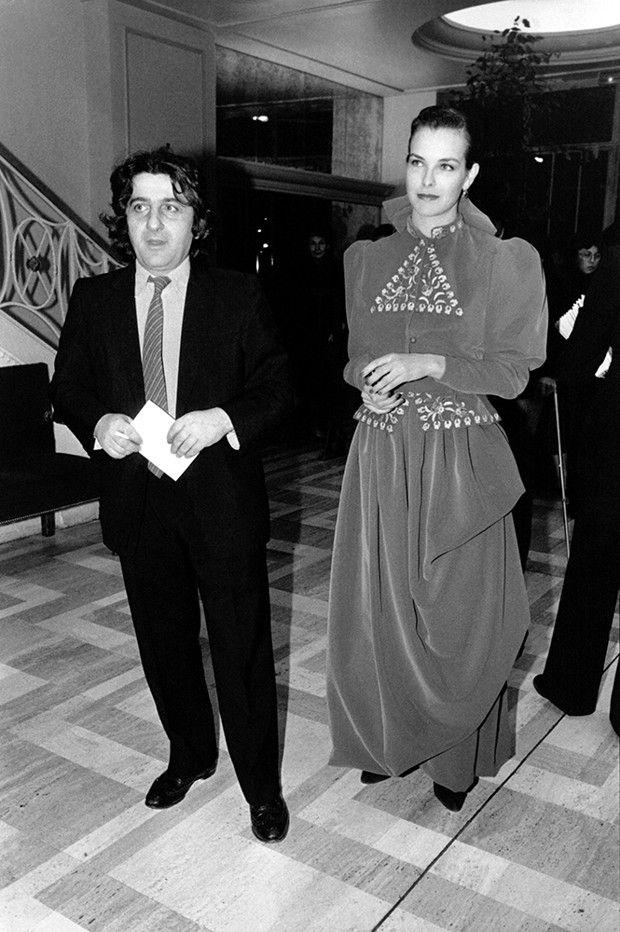 Jean-Pierre Rassam et Carole Bouquet, les parents du producteur Dimitri Rassam, en 1983.