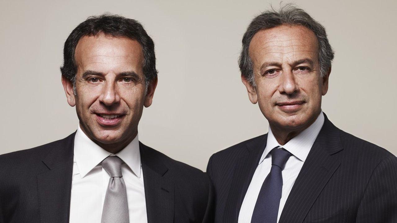 Yoël Zaoui (à gauche), devient codirecteur général d'Odyssey Acquisition tandis que Michael Zaoui en prend la présidence.
