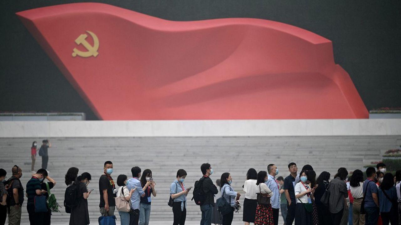 Le musée du Parti communiste chinois, à Pékin.