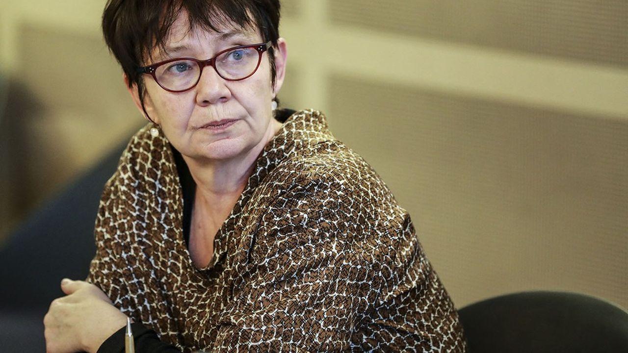 Odile Renaud-Basso a pris la présidence de la BERD, qui entre dans sa trentième année, à l'automne dernier.