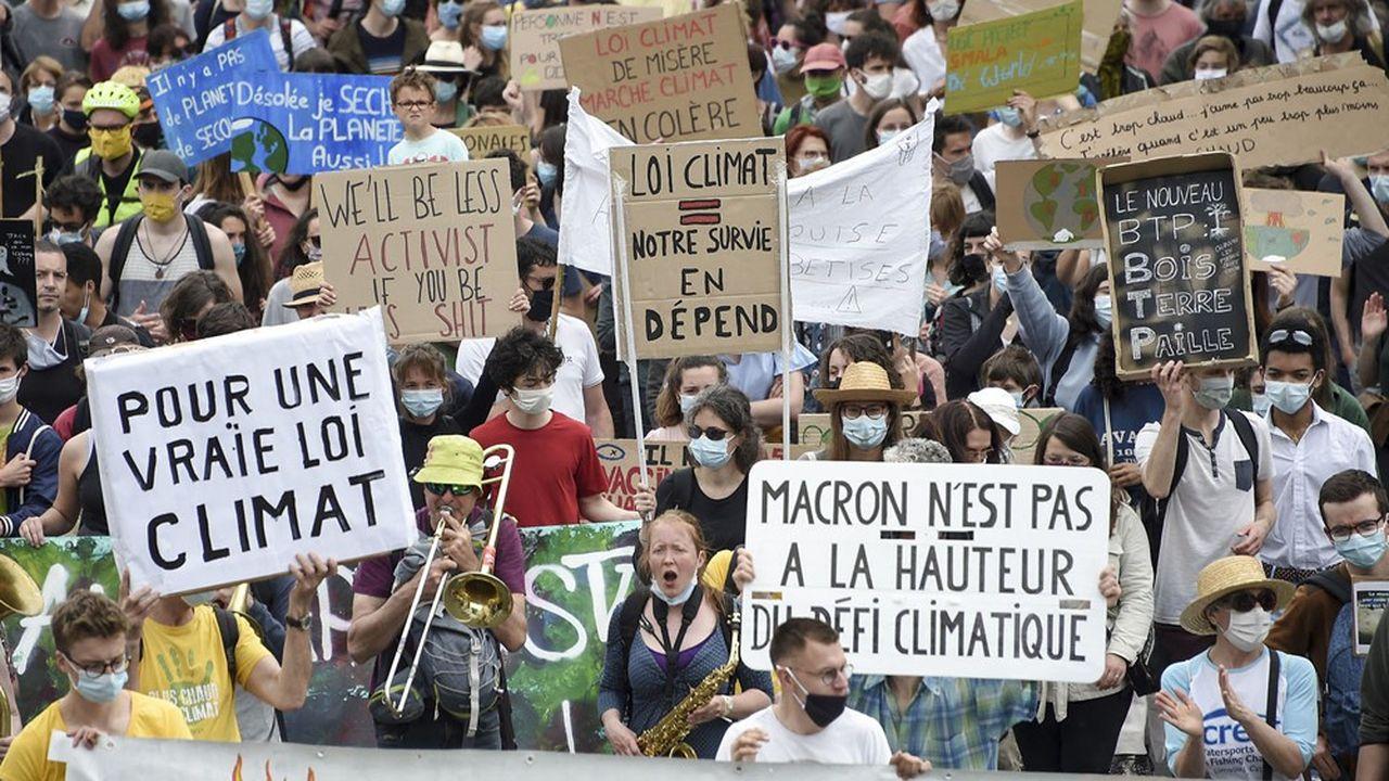 Marche pour le climat, à Nantes, le 9maidernier.