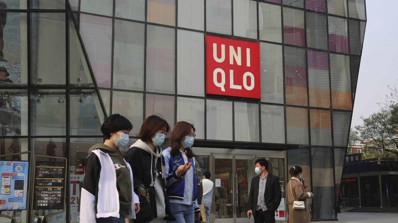 Uniqlo France, qui avait officiellement pris position contre le travail forcé de la minorité, fait partie des enseignes visées par l'enquête.