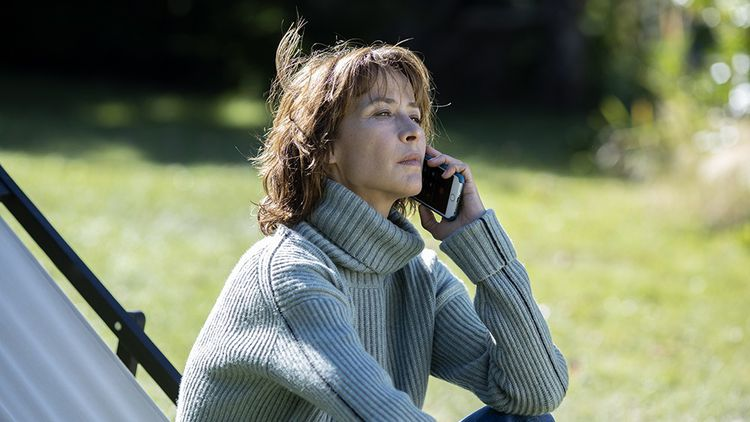 """Sophie Marceau in """"Everything went well"""", by François Ozon."""