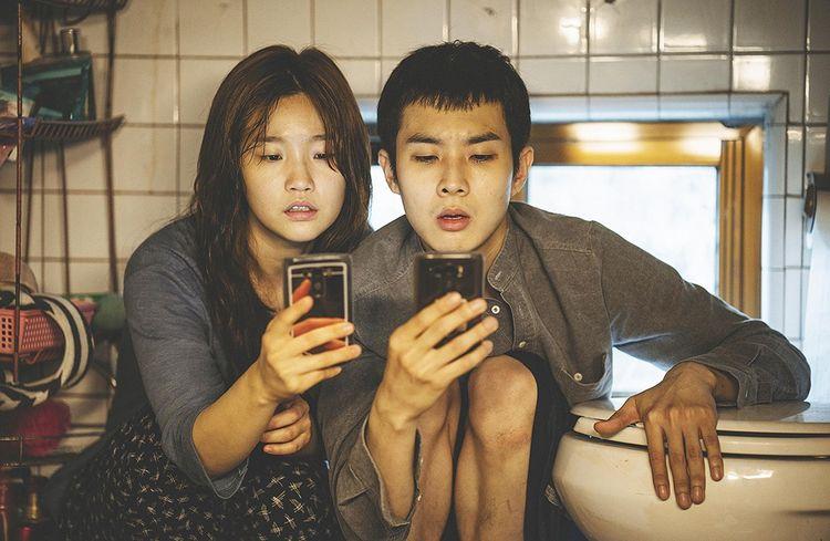 Les deux ados par qui tout va arriver dans «Parasite» du Coréen Bong Joon Ho.
