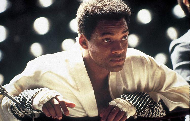Will Smith dans le rôle-titre d'«Ali», de Michael Mann, programmé à La Villette.