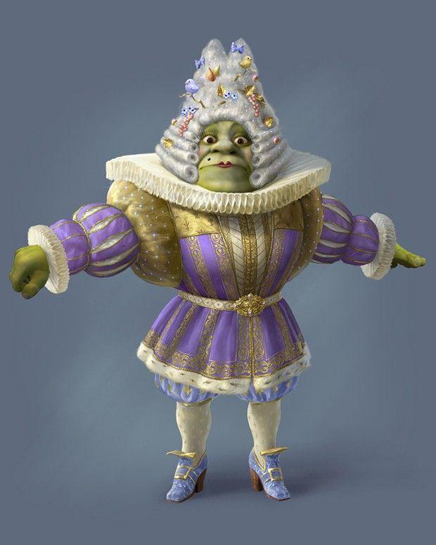 L'ogre Shrek vous reçoit au château de Voltaire.