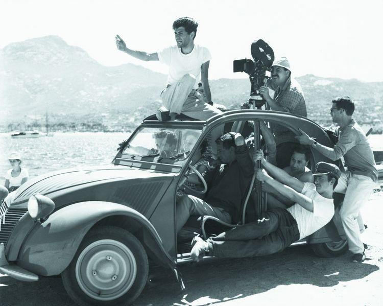 L'envers du décor d'«Adieu Philippine», de Jacques Rozier en 1962.
