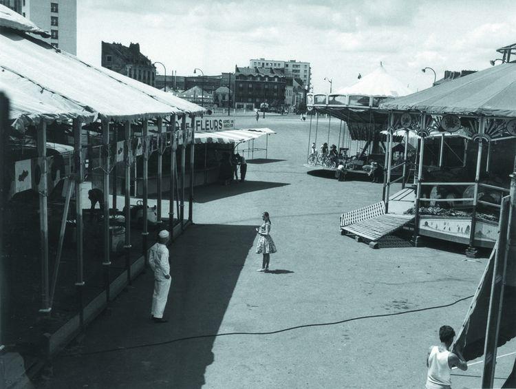 Le plateau de « Lola » en 1960, premier long métrage de Jacques Demy.