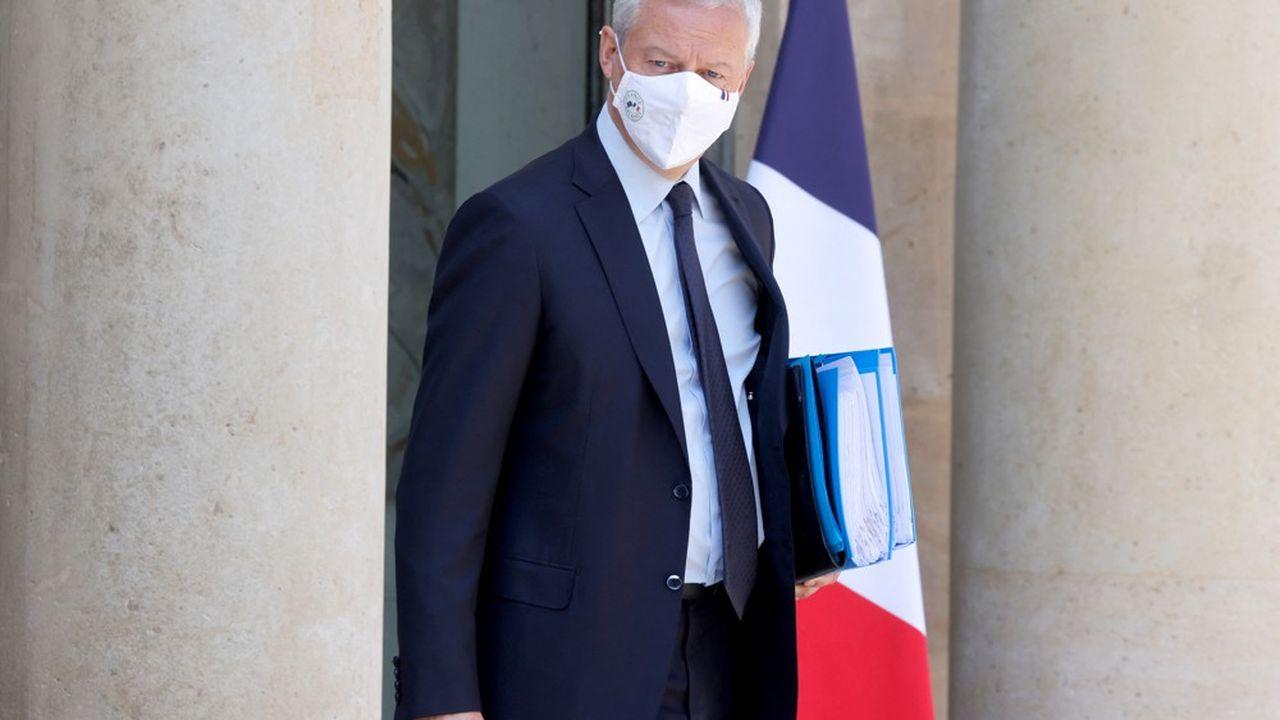 L'économie française n'a selon pas besoin d'un deuxième plan de relance, selon le ministre.