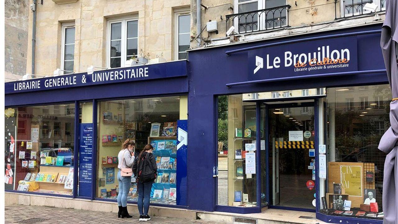 Comme les autres libraires, Le Brouillon de Culture à Caen relève l'appel d'air créé par le pass culture pour les jeunes de 18 ans.