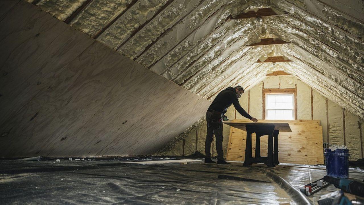 Seuls les matériaux dits de «second oeuvre», utilisés à l'intérieur du bâtiment, pour l'instant classés comme réemployables, soit environ 10millions de tonnes de déchets potentiels par an.