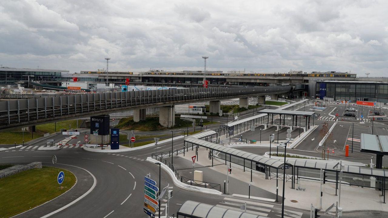L'aéroport d'Orly est fermé au trafic commercial depuis le 31mars.