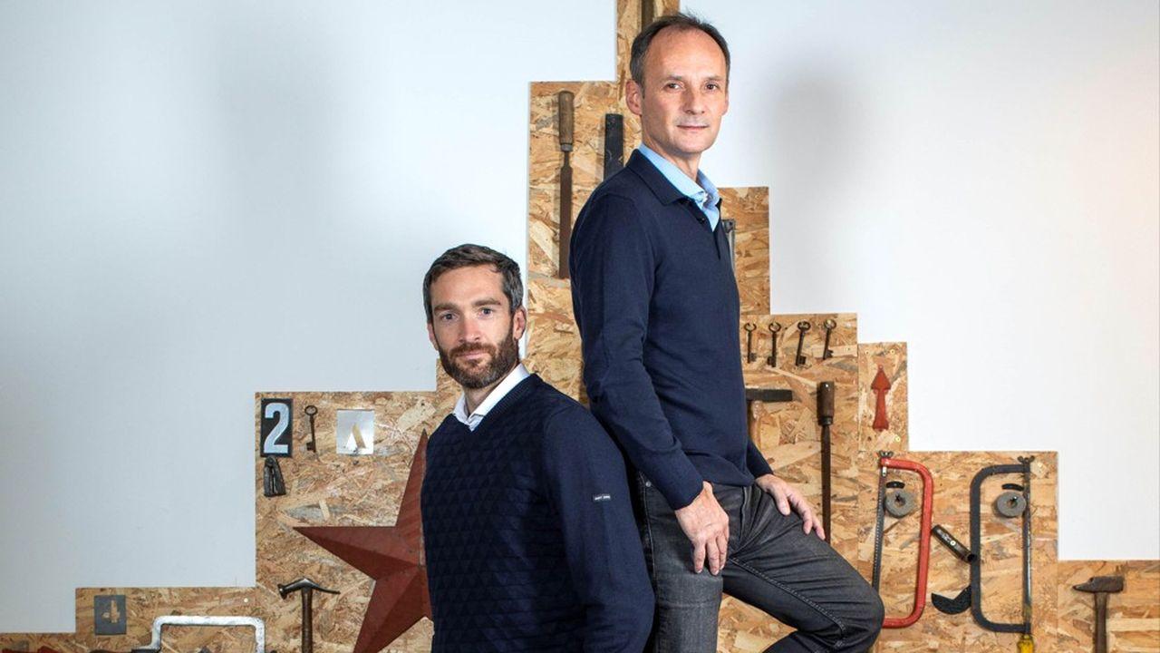 Christian Raisson et Philippe de Chanville sont les cofondateurs de ManoMano.