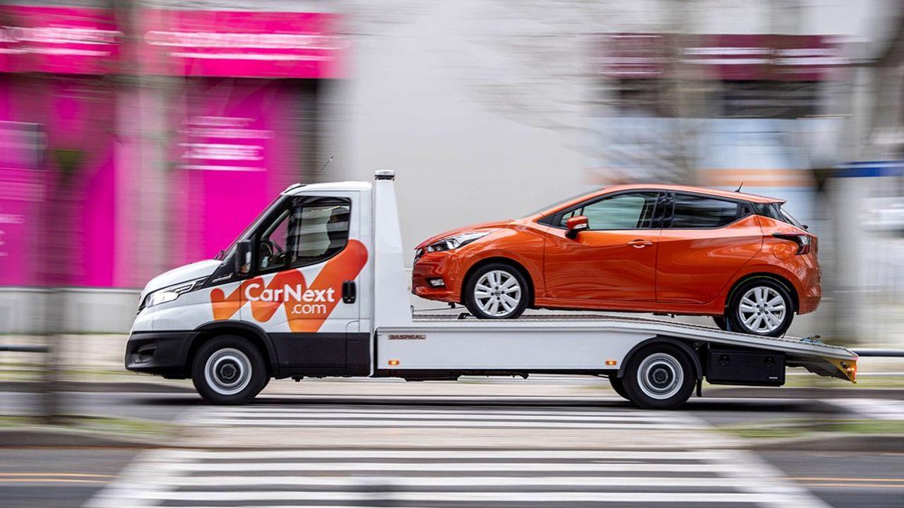 L'an dernier, CarNext a écoulé 200.000 voitures en direction des professionnels, et 40.000 ont été achetées en ligne par des particuliers sur le site de la marque.