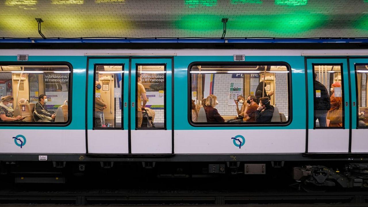 Sur l'ensemble de l'année 2020, la RATP a enregistré un recul de 43% de sa fréquentation.