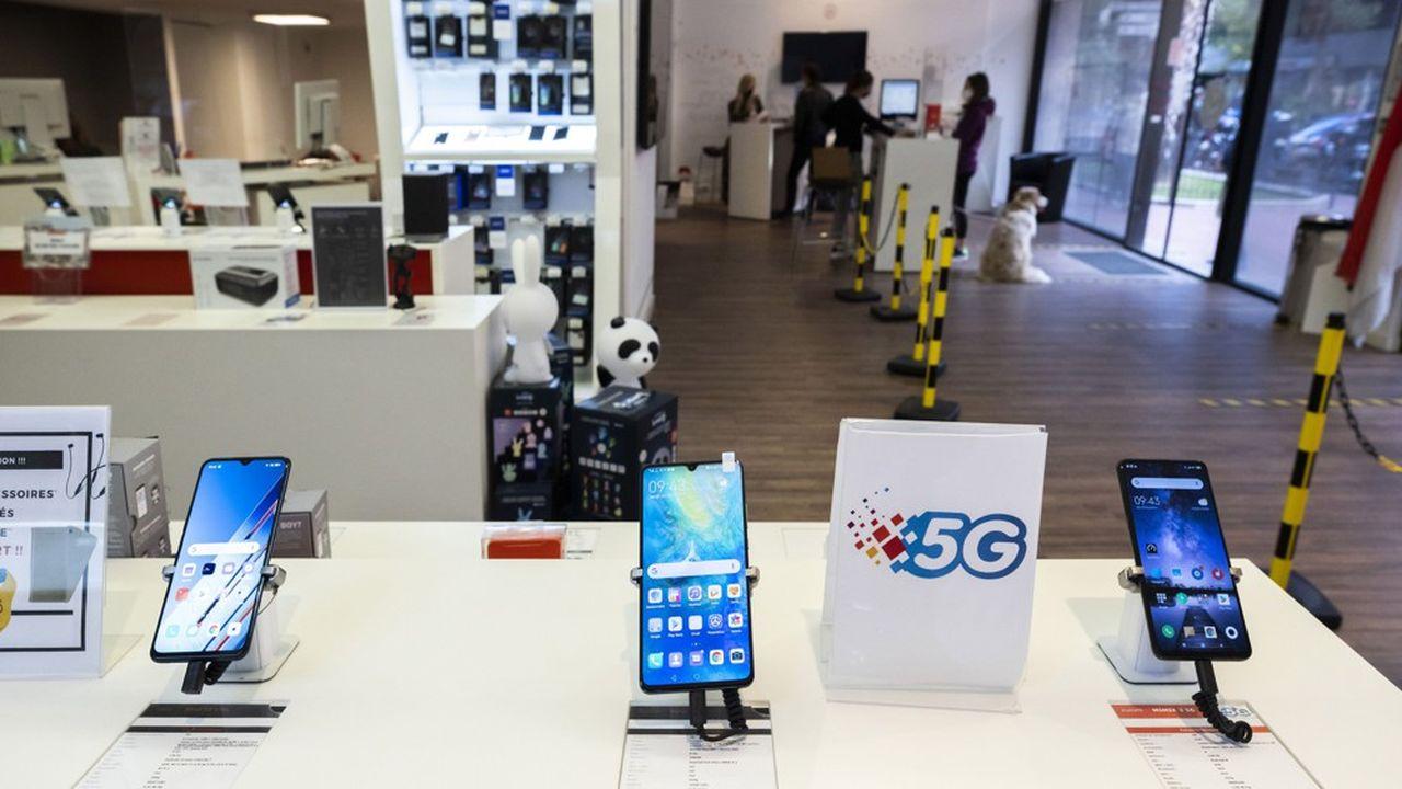 Environ 25% des smartphones en France sont vendus avec un forfait mobile.