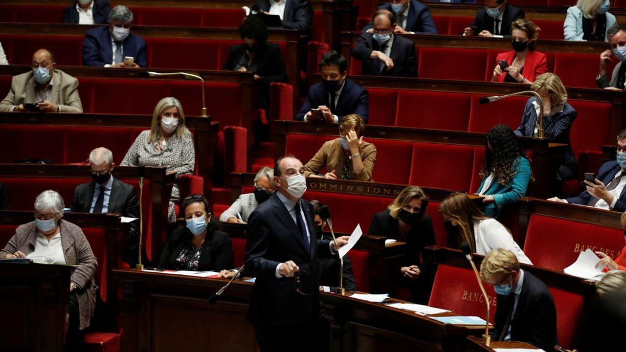 Jean Castex, le Premier ministre, a trouvé l'attitude du Sénat «profondément regrettable» sur le projet de référendum sur le climat.