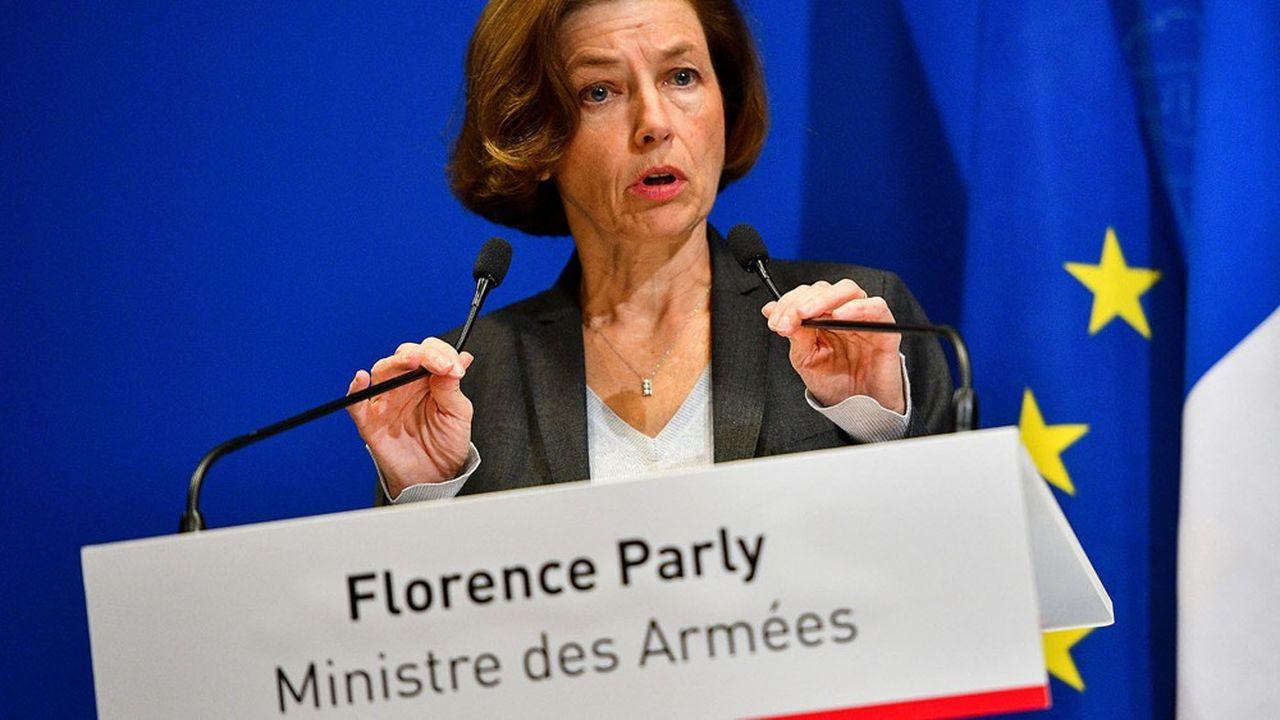 La ministre des Armées, Florence Parly, s'est attaquée au projet d'exclusion de l'industrie de la défense du futur label européen pour les produits financiers.