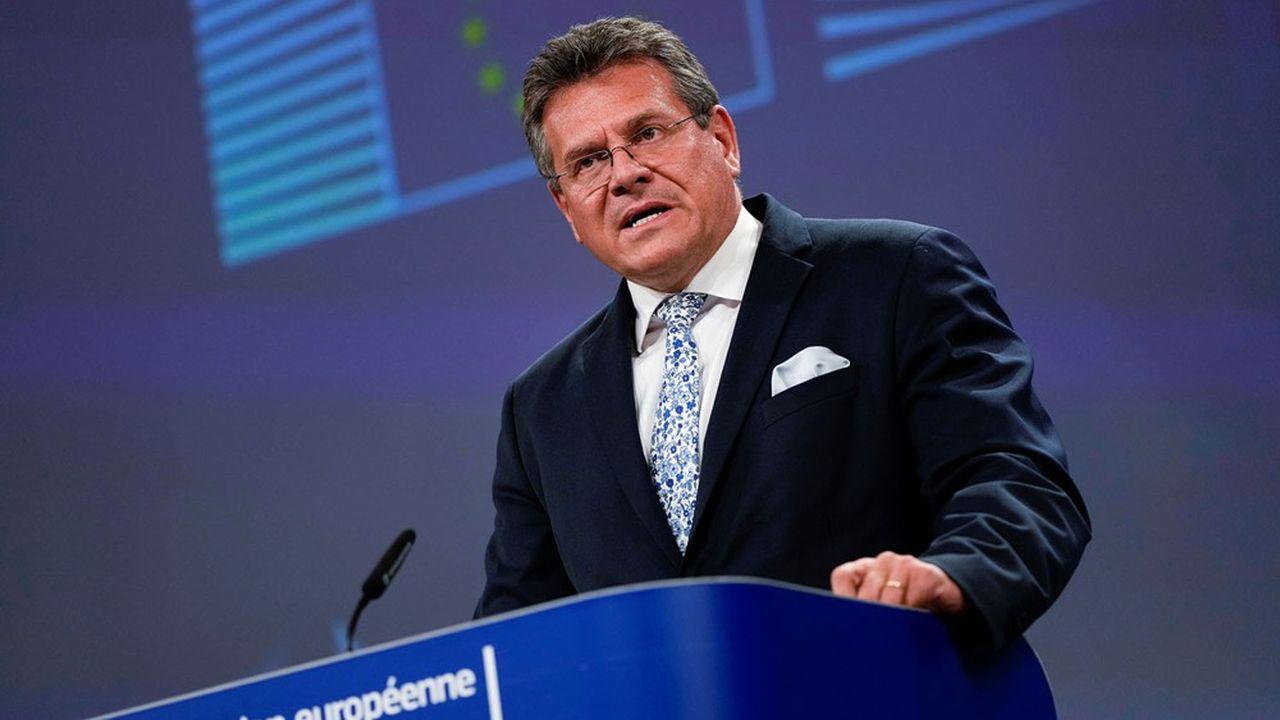 Le vice-Président de la Commission européenne chargé du Brexit, Maros Sefcovic, s'est dit conscient des réserves que sa proposition pouvait susciter à Londres.