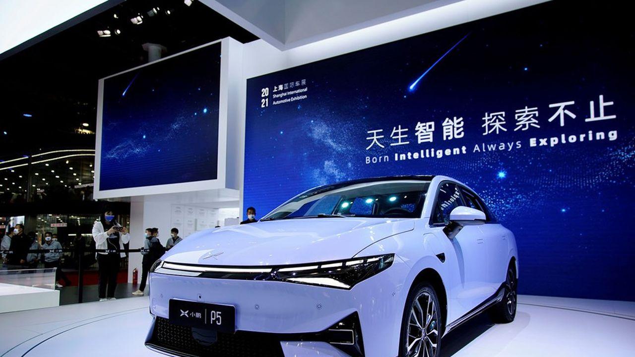 Les ventes de voitures XPeng ont dépassé les 450millions de dollars en Chine de janvier à mars.
