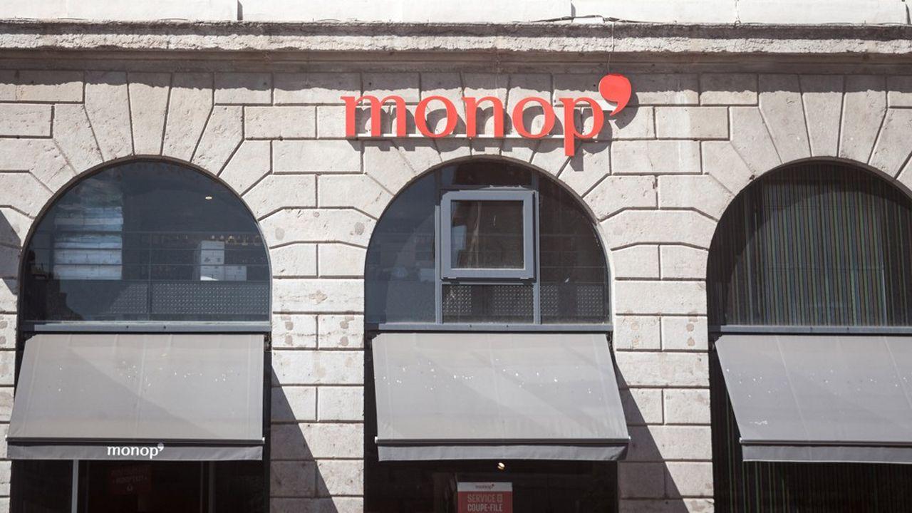 A Paris, rue de Marseille, l'enseigne format réduit de Monoprix lance un nouveau concept.