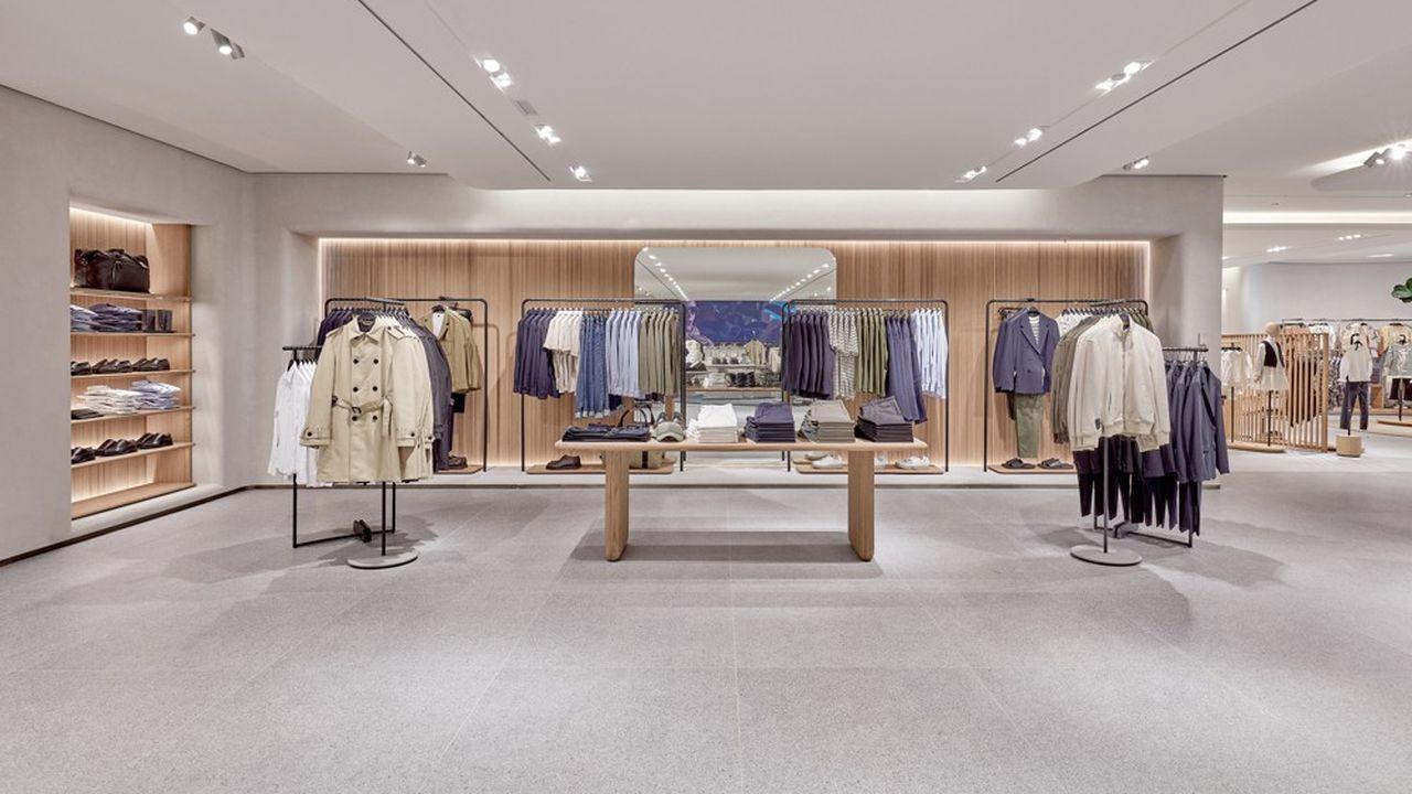 Inditex va continuer d'ouvrir des magasins Zara en France, comme ici à Clermont-Ferrand, mais à un rythme limité à 1 à 2 par an.