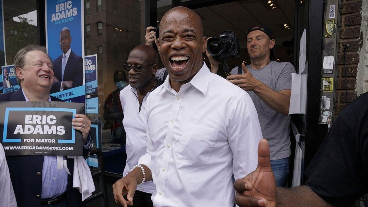Eric Adams devrait devenir en novembre prochain le 110e maire de New York. (Getty Images via AFP)