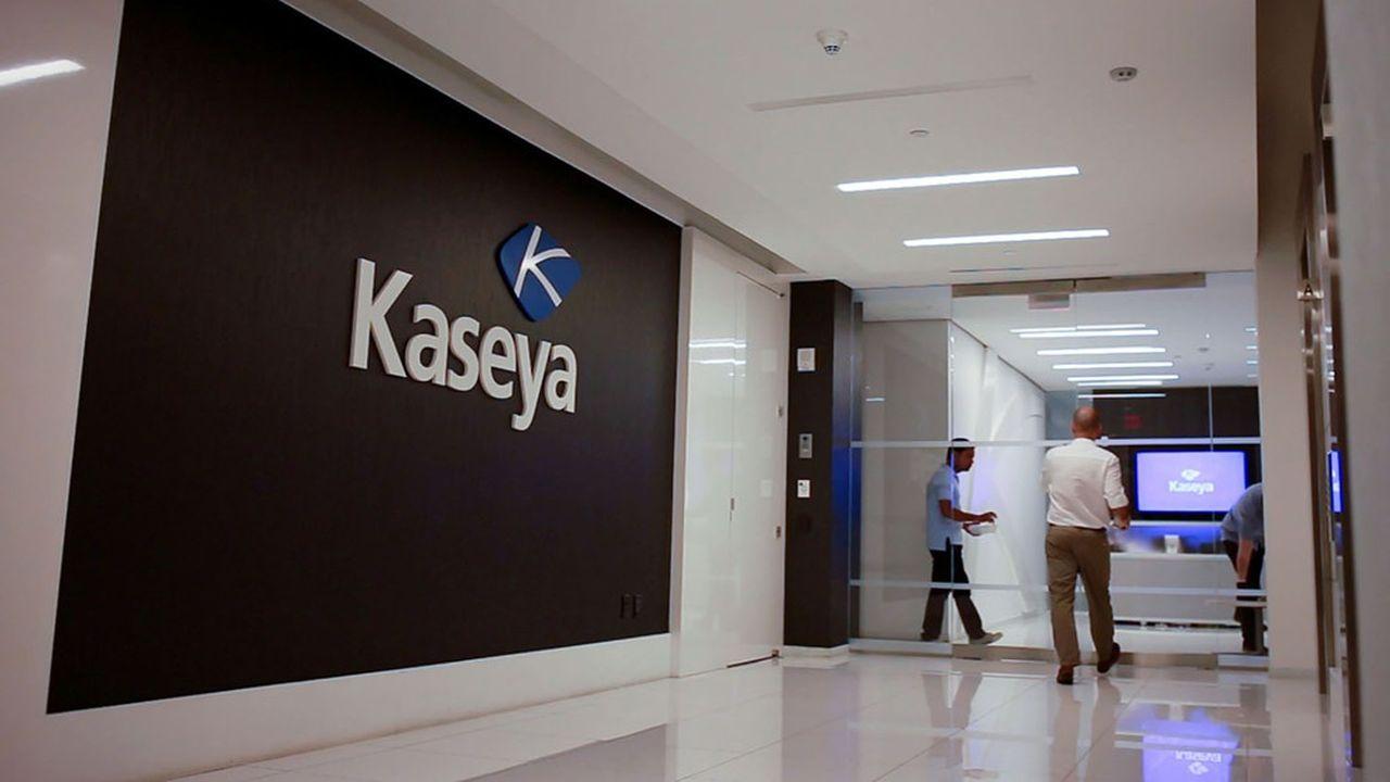 La société informatique américaine Kaseya envisageait initialement de remettre en route ses machines lundi, mais elle a dû retarder l'opération.