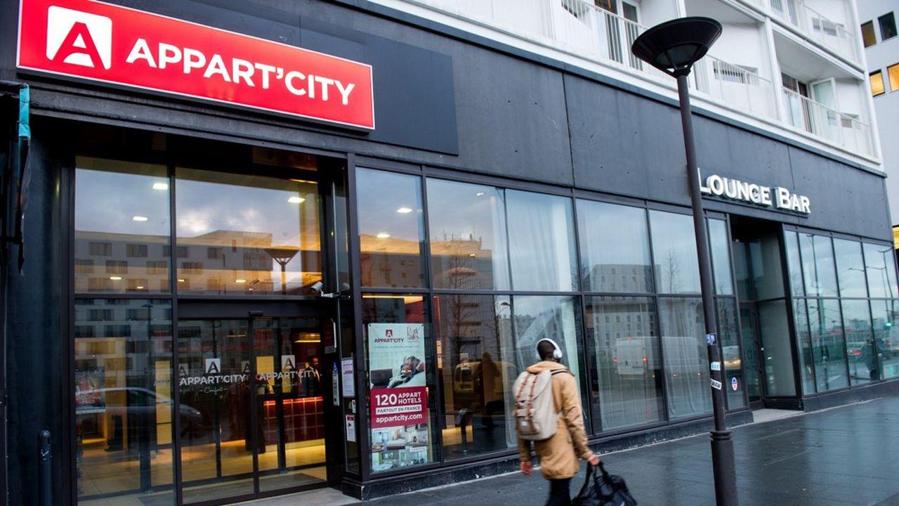 Une seule défaillance a été constatée parmi les entreprises de plus de 1.000 salariés, celle d'Appart'City, placée en procédure de sauvegarde.