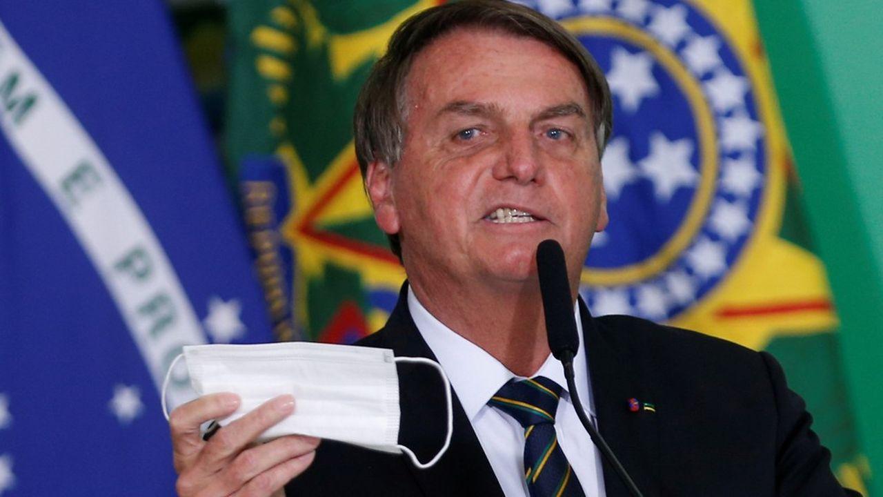 Le président brésilien, Jair Bolsonaro, le 10 juin 2021.