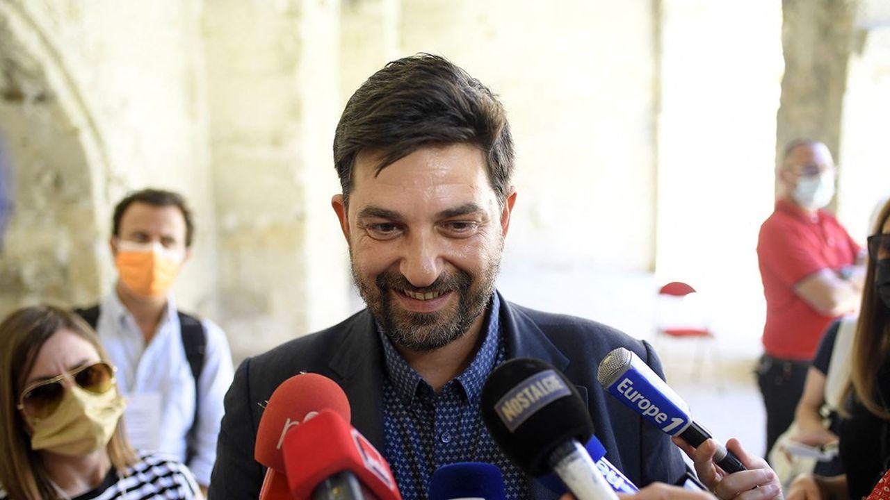 Portugais, Tiago Rodrigues devient le premier étranger à diriger le Festival d'Avignon(Photo by NICOLAS TUCAT / AFP)