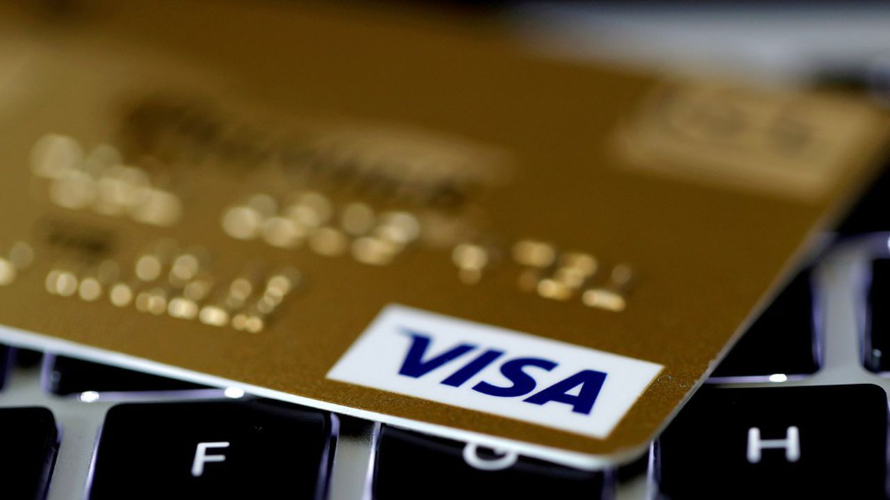 Les futures cartes de Visa arboreront les quatre anneaux des Jeux Olympiques. Mais le logo du Groupement des Cartes Bancaires n'y apparaîtra pas.