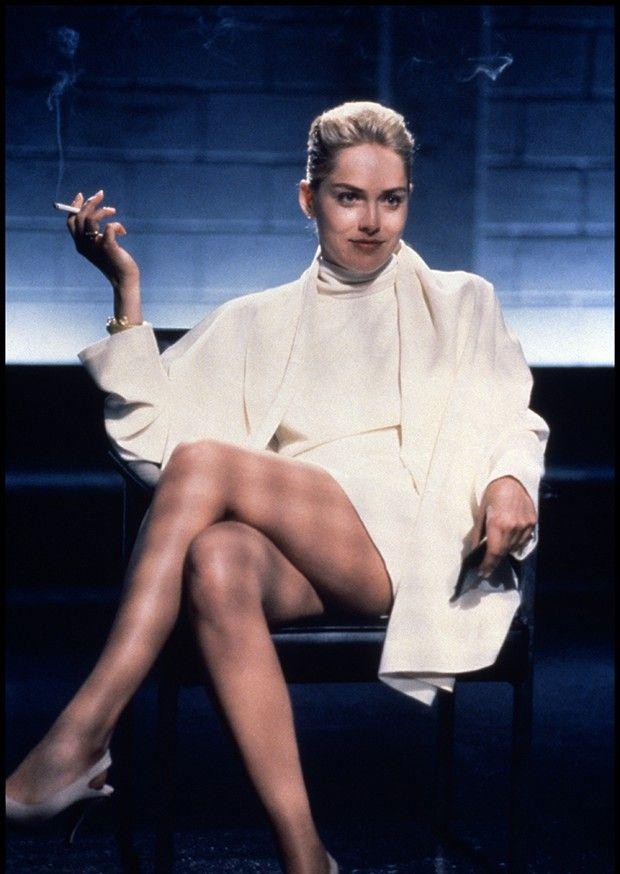 Sharon Stone, dans la scène mythique de « Basic Instinct » (1992).