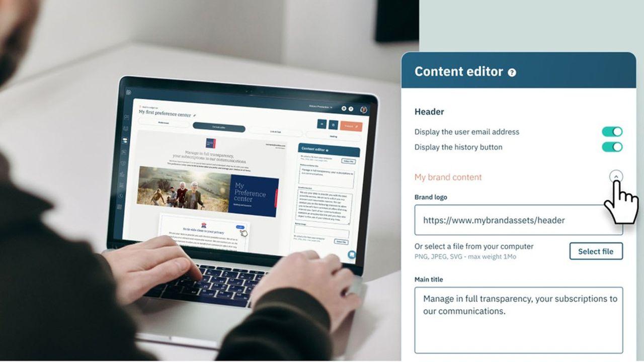 Didomi propose notamment une plateforme personnalisable qui collecte et stocke le consentement des internautes.