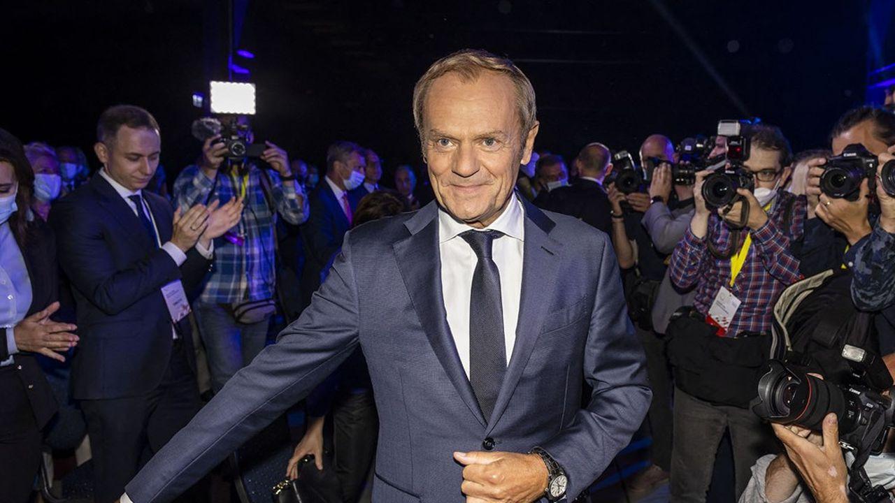 L'ex-président du Conseil européen s'est fait ovationner à l'issue de son discours anti-Pis, samedi dernier à Varsovie.