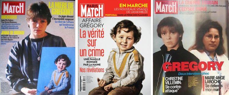 Paris Match a multiplié les Unes sur l'affaire du petit Grégory dès 1984, l'année de sa disparition.