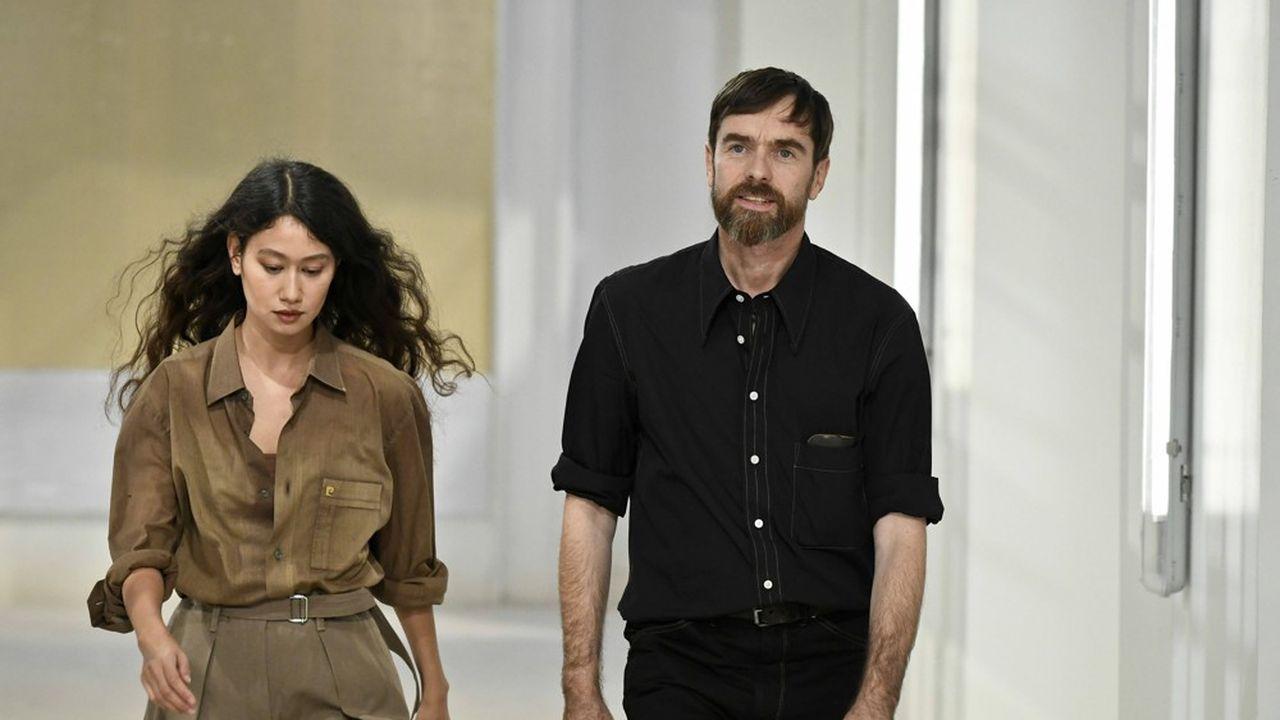 Sarah-Linh Tran et Christophe Lemaire