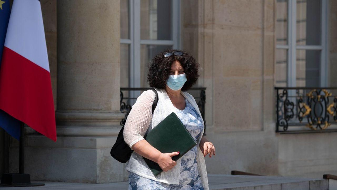 Frédérique Vidal, la ministre de l'Enseignement supérieur.