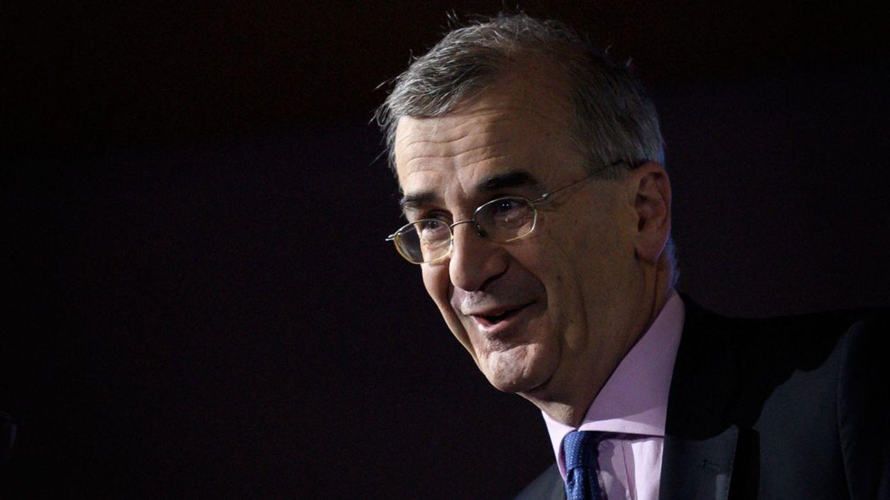 François Villeroy de Galhau, gouverneur de la Banque de France, a remis ce vendredi sa lettre annuelle au Président de la République.