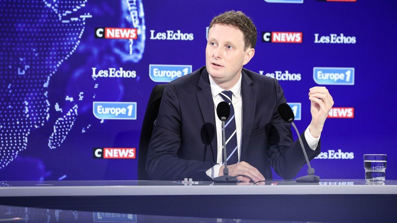 Clément Beaune, invité du «Grand Rendez-Vous» d'Europe1 - CNews - «Les Echos».