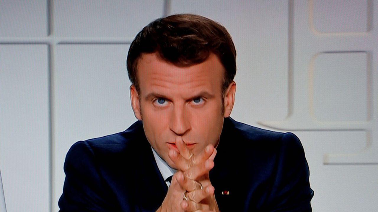 Emmanuel Macron s'adressera lundi soir à 20heures aux Français sur la situation sanitaire et les mesures qu'elle impose, ainsi que sur la relance du pays.