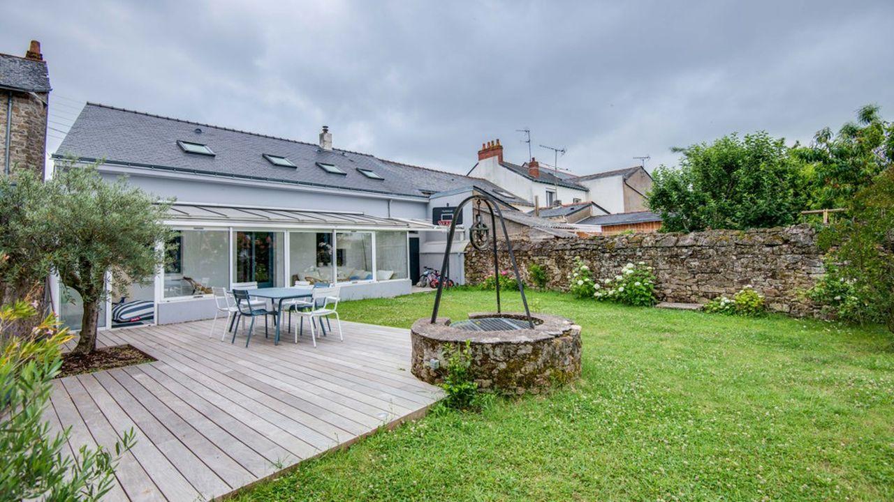 Cette maison nantaise se situe dans le beau quartier de Chantenay, traversé par la Loire.