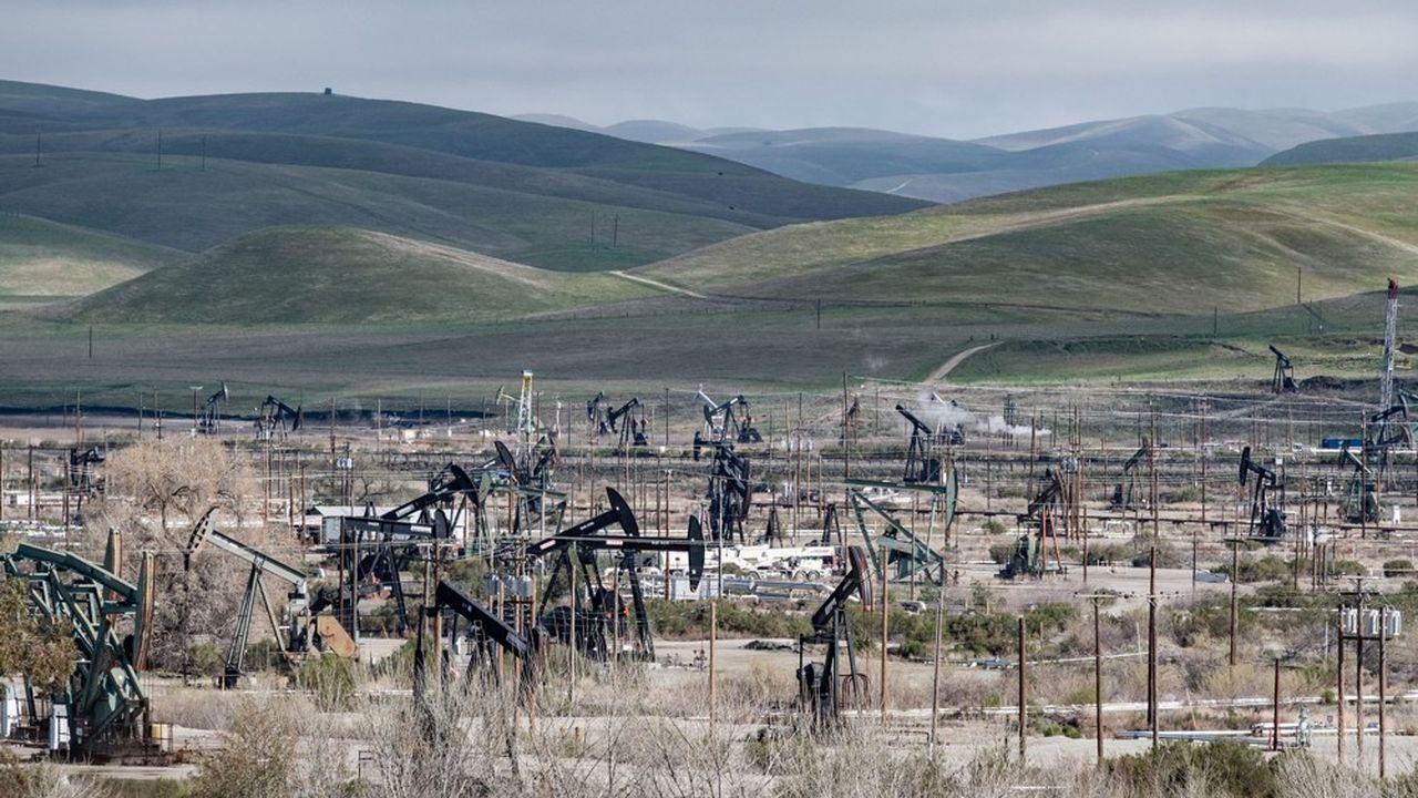 Exploitation pétrolière en Californie, mars2018.