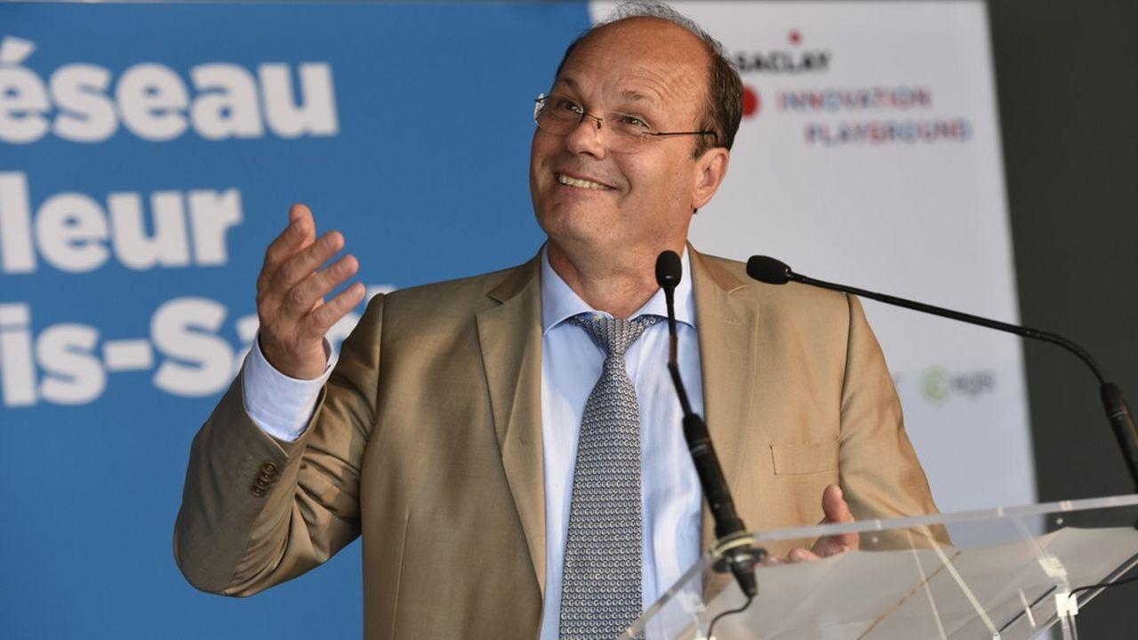 Philippe Van de Maele a été reconduit au poste de directeur de l'établissement public Paris Saclay