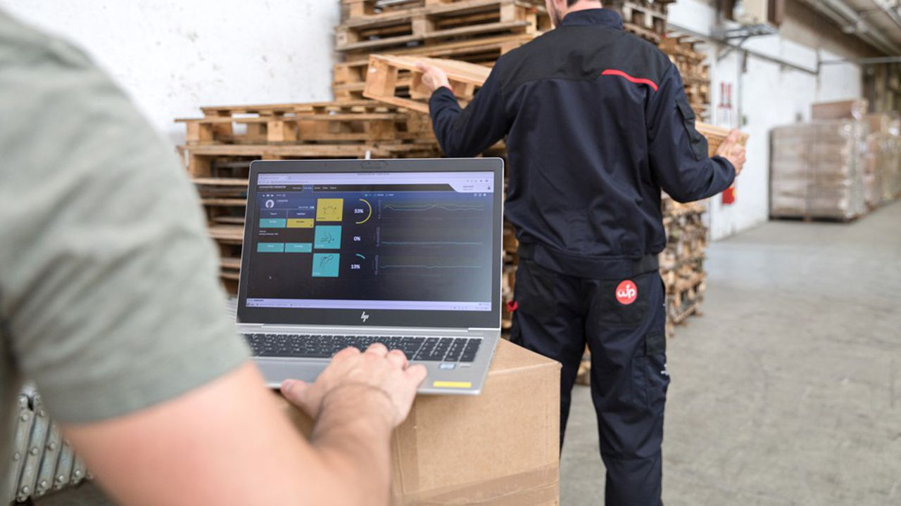 Le système Wip permet une remontée d'informations sur les mouvements du porteur et l'ergonomie de son poste.