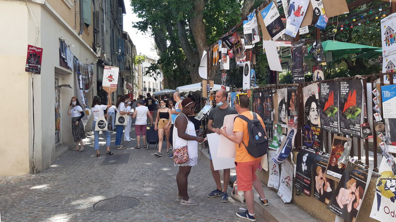 Le festival Off d'Avignon dure jusqu'au 31juillet